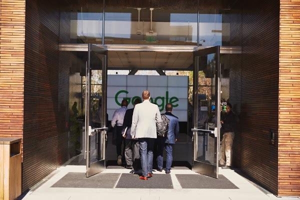 Google entrance. Source: Google Press Center